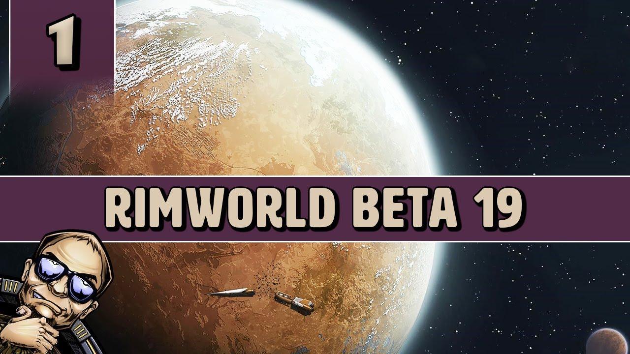 RimWorld Beta 19 Savage Tribal Start - Part 1