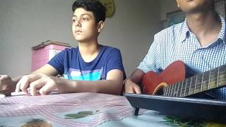 Chasing Cars by Snow patrol (pentapping cover and guitar)