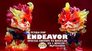 ENDEAVOR FUNKO POP REGULAR VS SPECIAL EDITION / FUNKO POP EN UN MINUTO / MYFRIENDSAC/