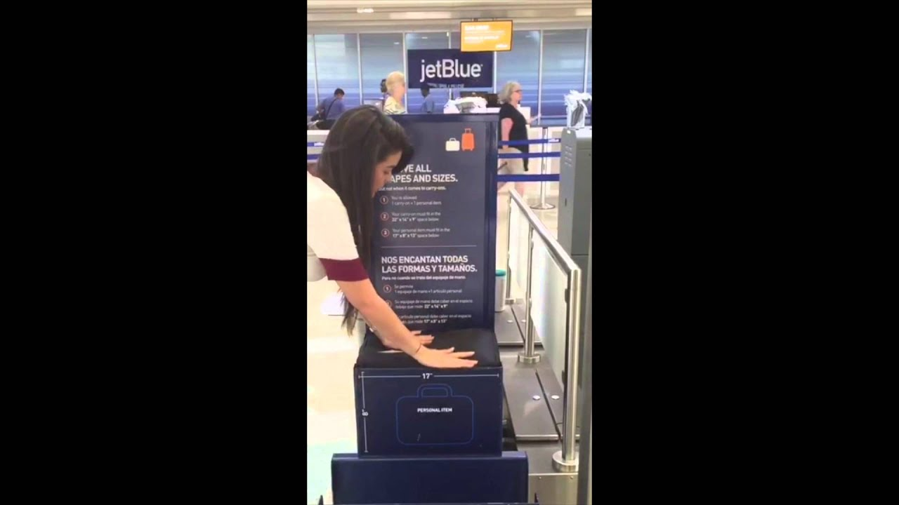Jetblue Backpack Free Personal Item Under Seat 17 X 13 X 8
