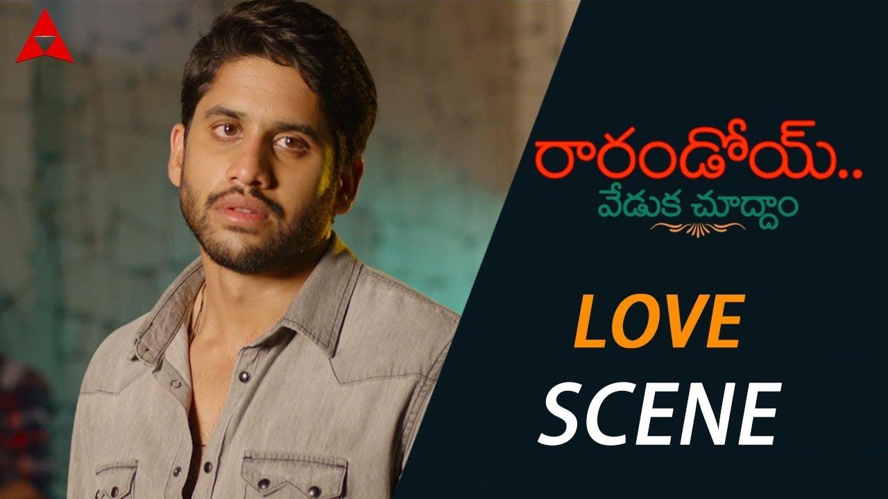 Download Naga Chaitanya Expressing His Feelings For Rakul Preet - Rarandoi Veduka Chuddam Movie