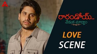 Naga Chaitanya Expressing His Feelings For Rakul Preet - Rarandoi Veduka Chuddam Movie