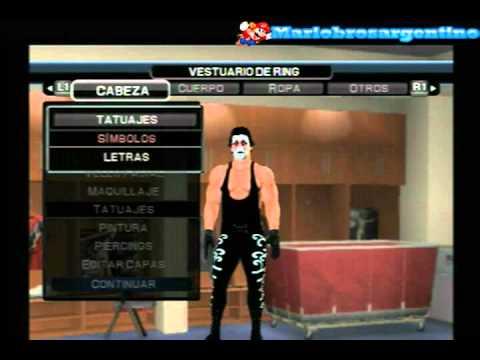 Wwe Smackdown vs Raw 2011 - How to create to Sting(Mi Caw ... Trish Stratus And Jeff Hardy 03.24.2003
