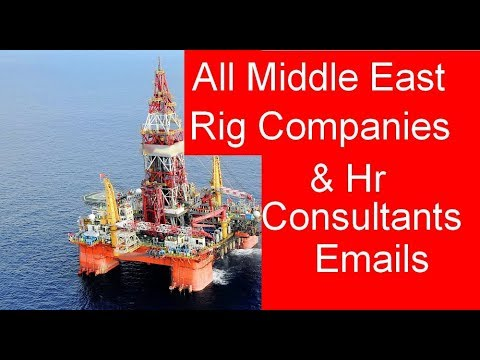 Oil And Gas Rrecruiting - Oil and Natural Gas Recruitment - Middle East Drilling Consultant Emails