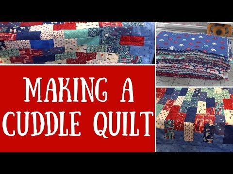 Experimenting With Jelly Rolls - A Cuddle Quilt