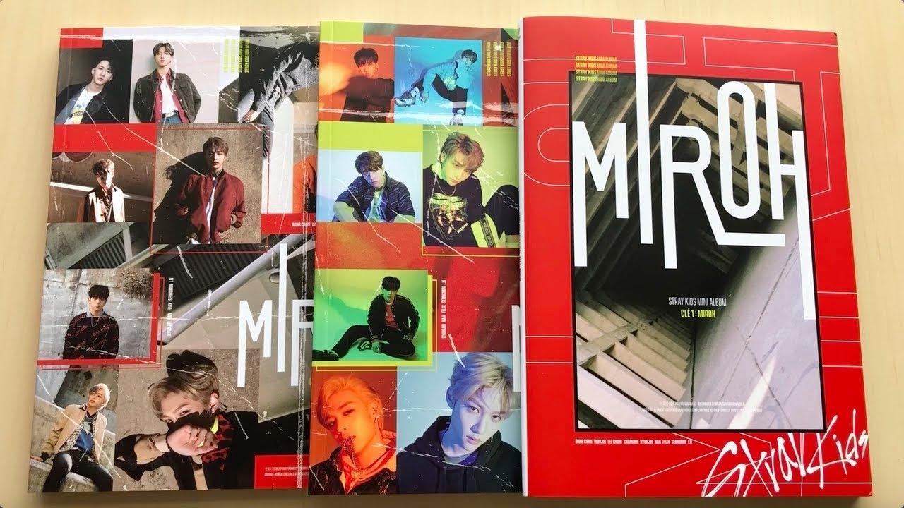 ♡Unboxing Stray Kids 스트레이키즈 4th Mini Album Clé 1: MIROH 미로 (Miroh, Clé 1 &  Limited Edition)♡