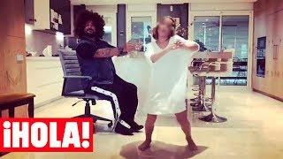 ANTONIO OROZCO y su hijo JAN, protagonizan la versión más divertida del 'Kiki Challenge'