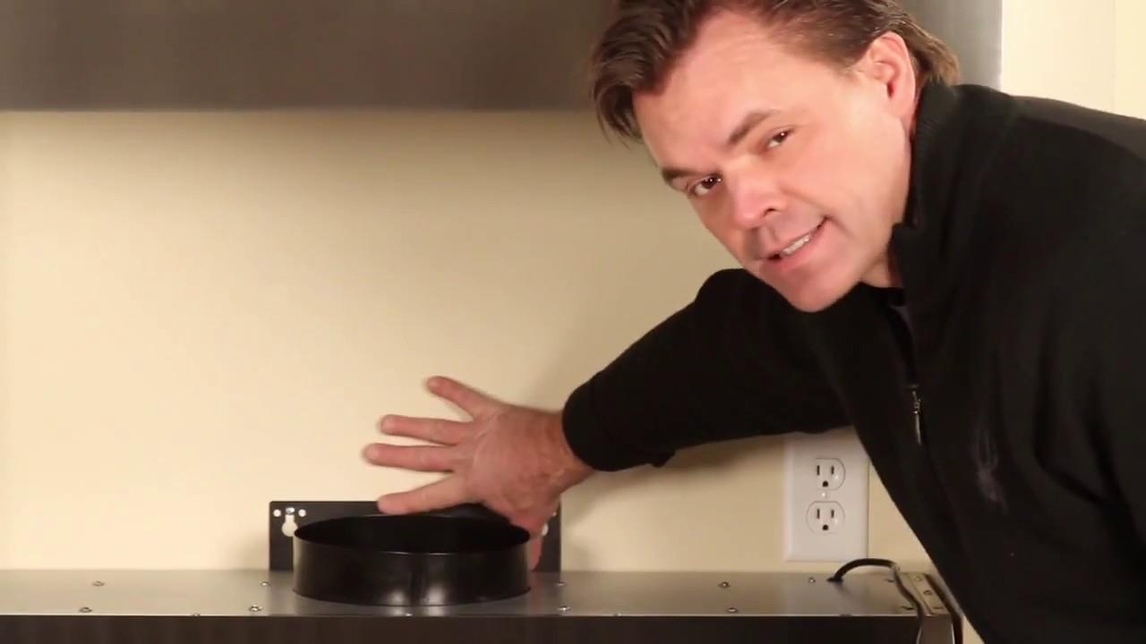 How To Install An Under Cabinet Range Hood   PLFW115 U0026 PLFW116 By Proline Range  Hoods