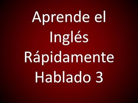 Inglés Americano - Aprende el Inglés Rápidamente Hablado 3 (Lección 366)
