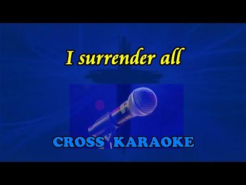 I Surrender All - Karaoke backing by Allan Saunders