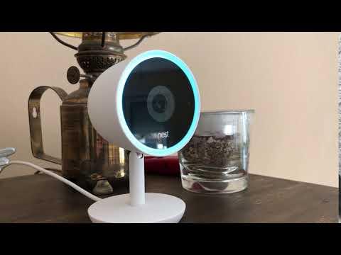 Google Assistant auf der Nest Cam IQ-Innenraumkamera