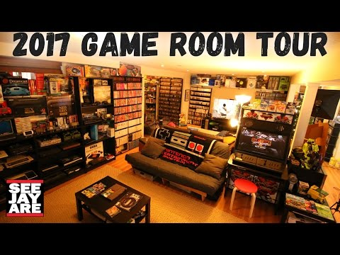 2017 Game Room Tour - 5,000 Games, 100+ Systems... Total Cos