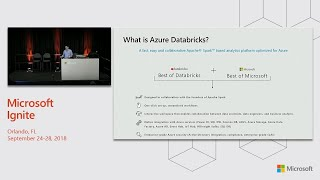 Azure Databricks for data engineers and data developers - BRK3313