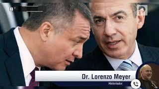 """Genaro García Luna es la otra cara de """"El Chapo"""" Guzmán, pero peor: Lorenzo Meyer"""