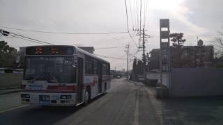【西鉄バス】吉井1414貸切 信愛女学院前にて