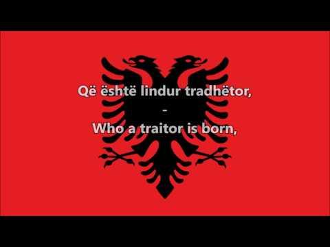 National Anthem of Albania (Albanian/English)