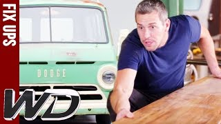 Upgrading An Old Dodge Into A Beach-Ready Surfer Van | Wheeler Dealers
