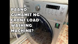 Samsung Front Load Addwash Washing Machine (inverter)
