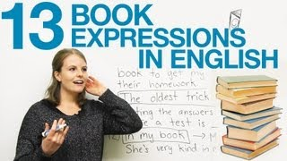 13 BOOK Expressions in English