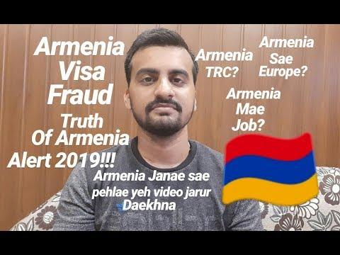 Armenia Visa Fraud In India - Truth About Armenia