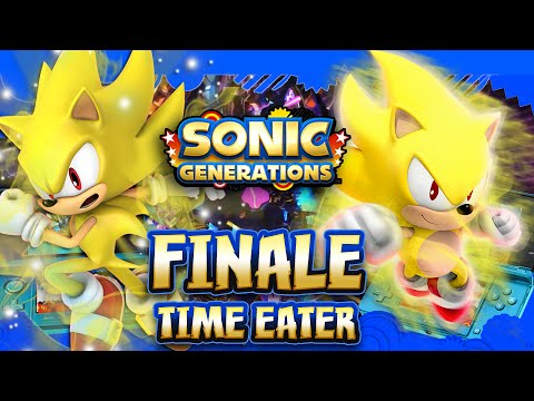 Sonic Generations 3DS - Part 8 FINALE Time Eater FINAL BOSS (1080p)