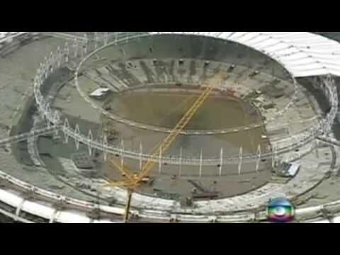 Rio de Janeiro's Maracana stadium floods