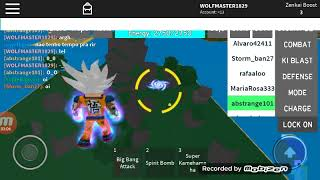 Goku vs Jiren -waring cringe- (Dragon Ball Rage Roblox)
