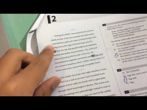 SAT Writing & Language: My performance in a practice test!