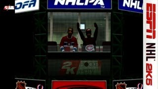 NHL 2K5 broadcast: Toronto Maple Leafs v.s. Montreal Canadiens (HD)