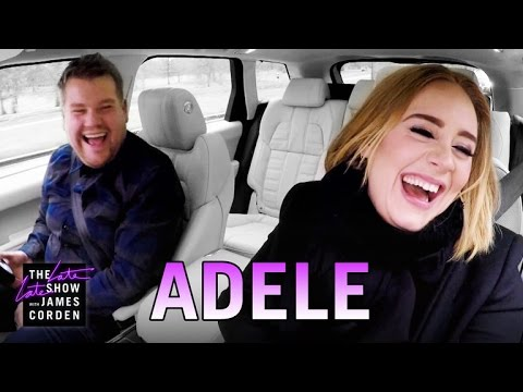 Adele Carpool Karaoke from YouTube · Duration:  14 minutes 52 seconds  · 175,922,000+ views · uploaded on 1/14/2016 · uploaded by The Late Late Show with James Corden