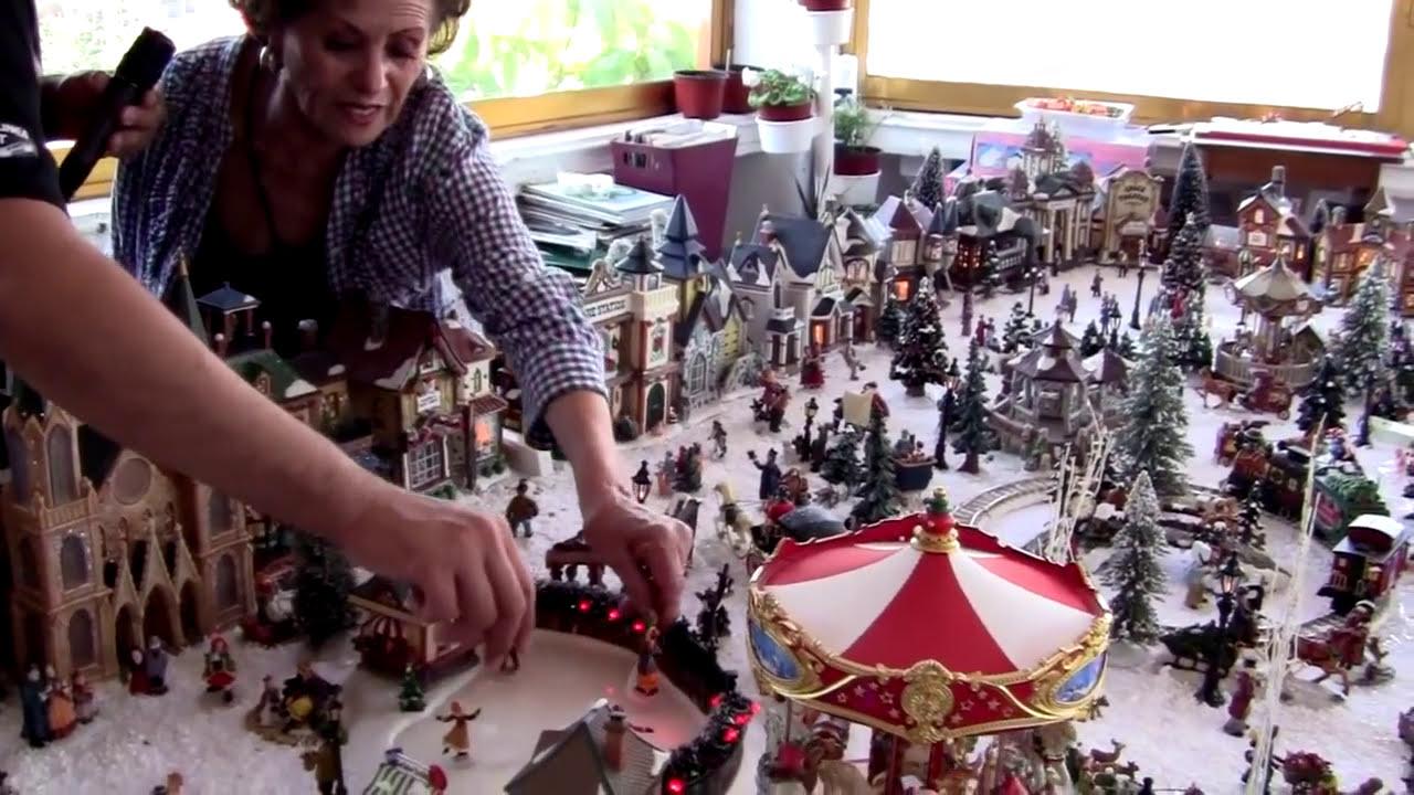 Maru coleccionista de villas navide as juegos juguetes y for Villas navidenas de porcelana