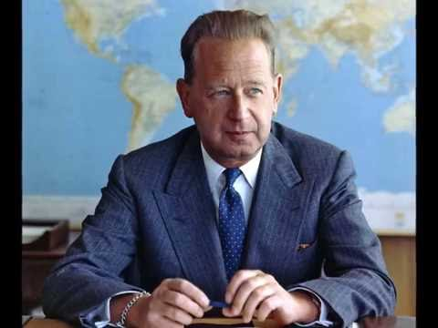 The CIA was behind the assassination of UN Secretary General Dag Hammarskjold.