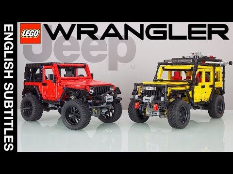 lego technic jeep wrangler review my mods preview with. Black Bedroom Furniture Sets. Home Design Ideas