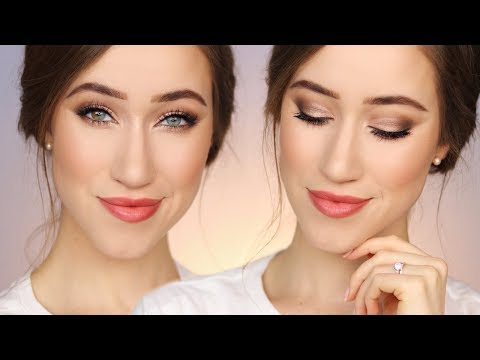 All Drugstore Bridal Makeup Tutorial 💍
