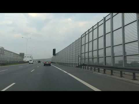 roads in Poland - S8 / S2 expressway (bypass of Warsaw)
