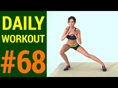 Daily Home Workout - Day #68: At Home Weightloss Workout (265 Calories)