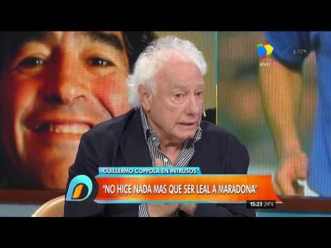 Coppola y una vida de lujos con Maradona: Rompíamos la plata, le faltábamos el respeto