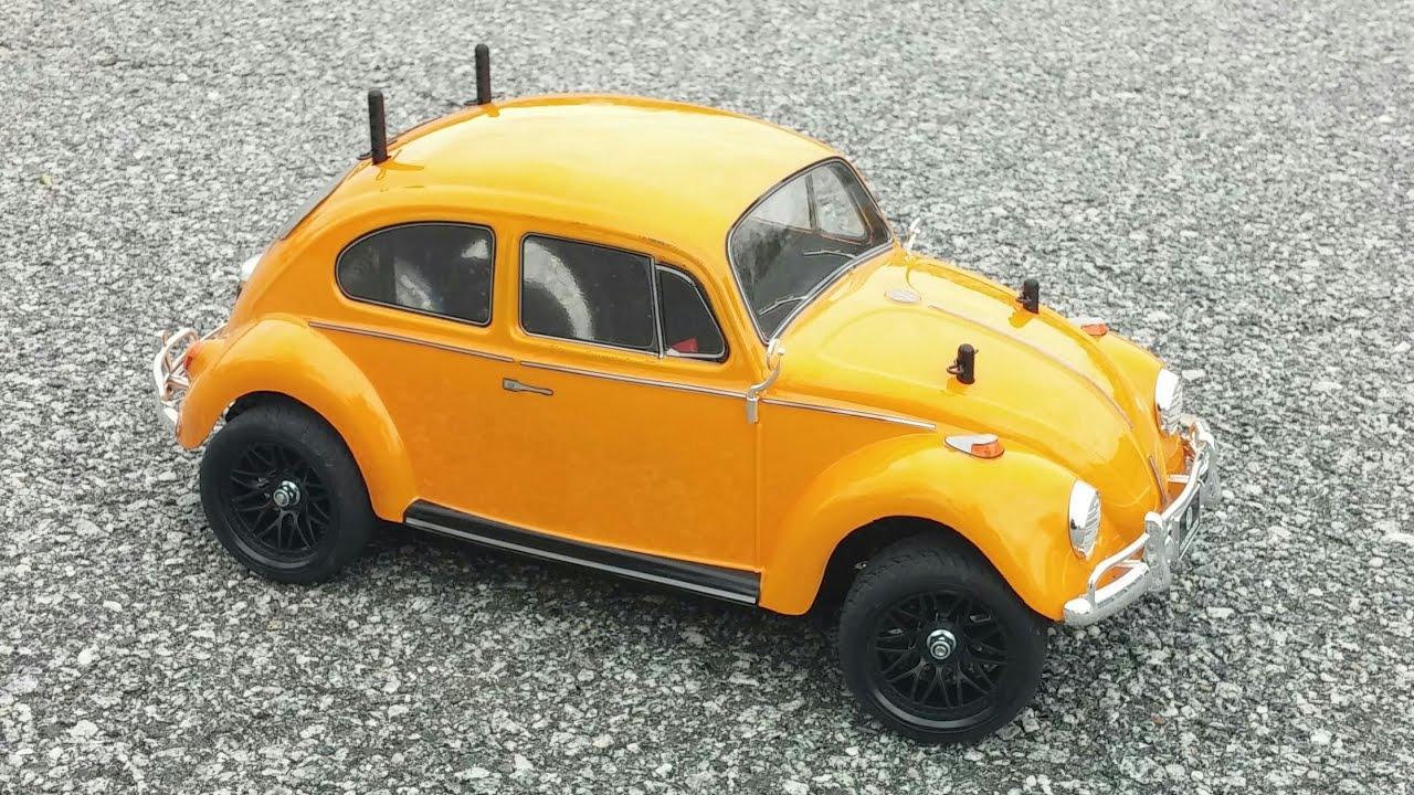 Tamiya 1/10 Volkswagen Beetle M-06 Run - YouTube