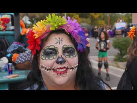 ABQ South Valley Day of the Dead Parade 2016