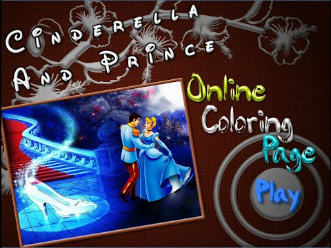 Cinderella Coloring Pages For Kids Cinderella Coloring Pages