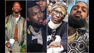 Celebs and Rappers React To 21 Savage Deported Back To The UK Young Thug, Offset, Meek Mill