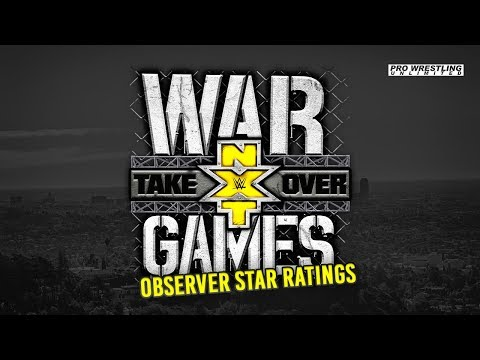 NXT Takeover: WarGames II Wrestling Observer Star Ratings