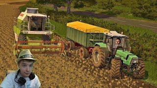 ☆Sprzedaż Rzepaku i Kontynuacja Żniw☆ Na Obczyźnie #2 Farming Simulator 2017 MP