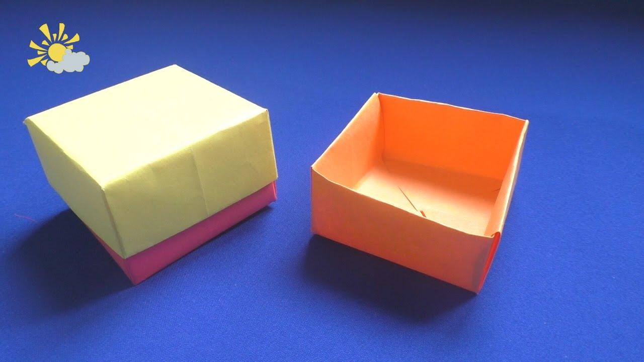 Простейшая коробка из картона своими руками фото 404