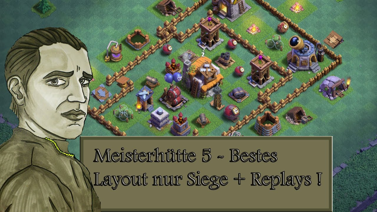 Meisterhutte 5 Bestes Layout Nur Siege Replays Clash Of