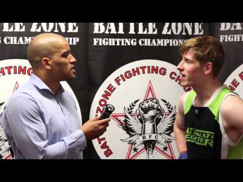Fight Highlights and Interview with Ron Butler at BattleZone FC 13