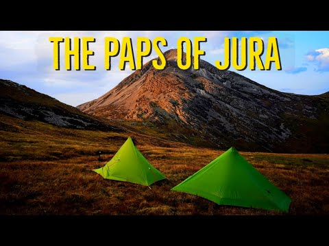 Hiking and Wild Camping the Paps of Jura