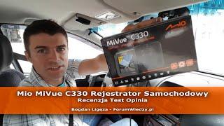 Mio MiVue c330 Rejestrator Samochodowy - Recenzja Test Opinia PL