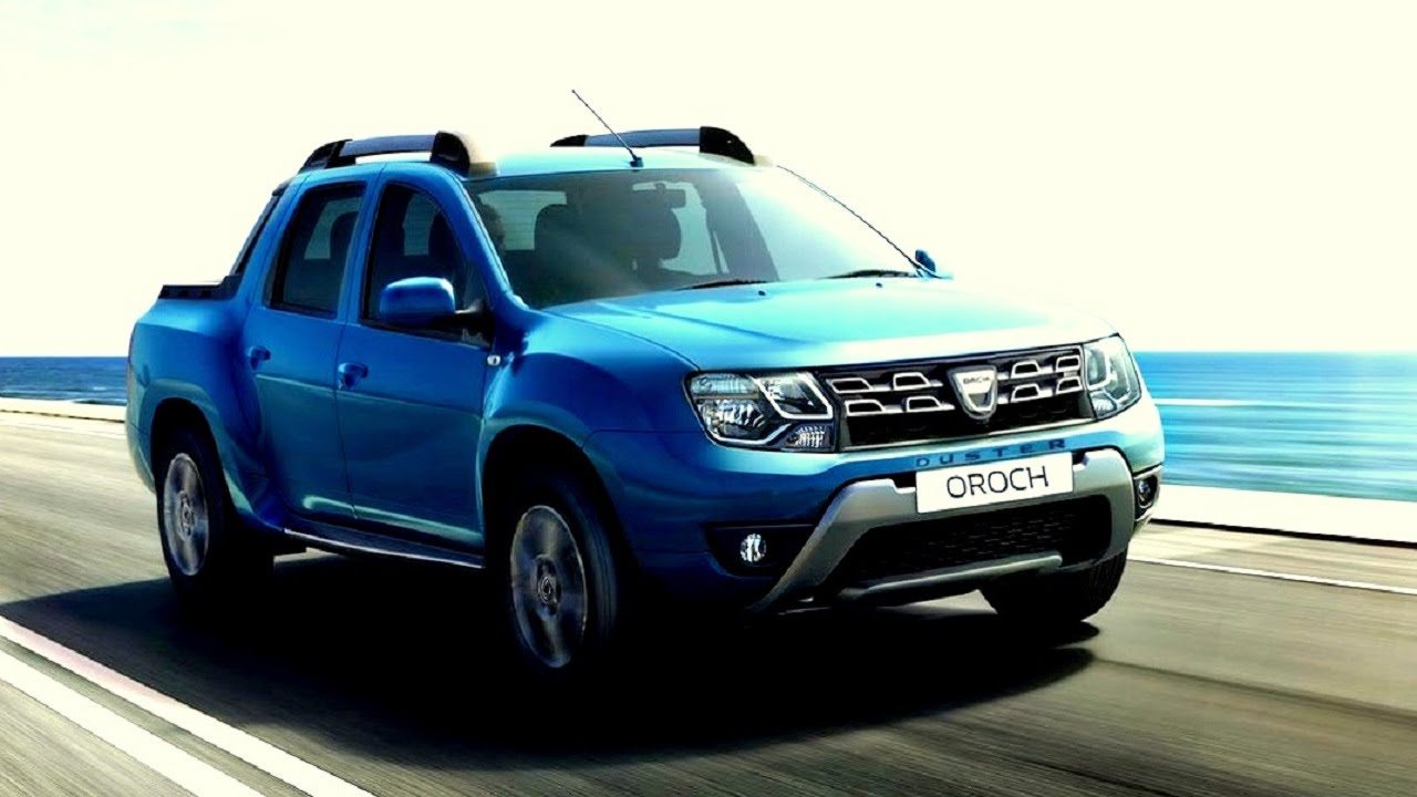 New Dacia Duster Oroch Pick Up 20162017 Youtube