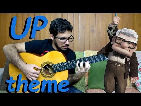 Up theme (Married Life) - Fingerstyle Guitar (Marcos Kaiser) #108